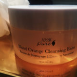 Mini review time! First up the 100percentpure Blood Orange Cleansinghellip
